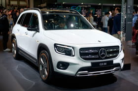 Les photos du Mercedes GLB au Salon de Francfort