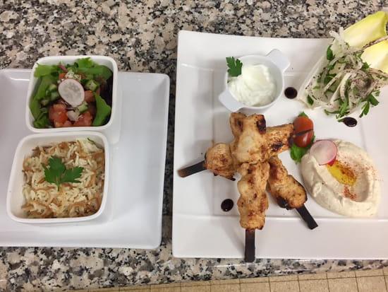Restaurant : Le Cèdre  - Le Cedre restaurant libanais a Nice   poulet au citron -   © le cedre