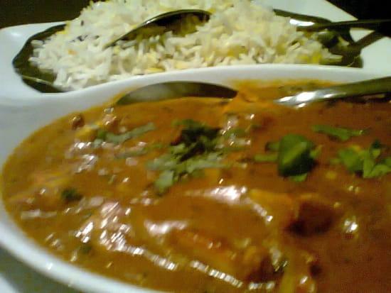 Bolly  Food  - Agneau curry Madras et son Riz Basmati -   © BF&G