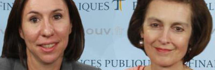 """Christine Canut et Camille Beauvieux (DGFiP):Télédéclaration : """"un moteur de recherche permet d'être positionné sur la bonne rubrique"""""""