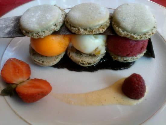 Dessert : L'Excellence  - Macarons glaces -