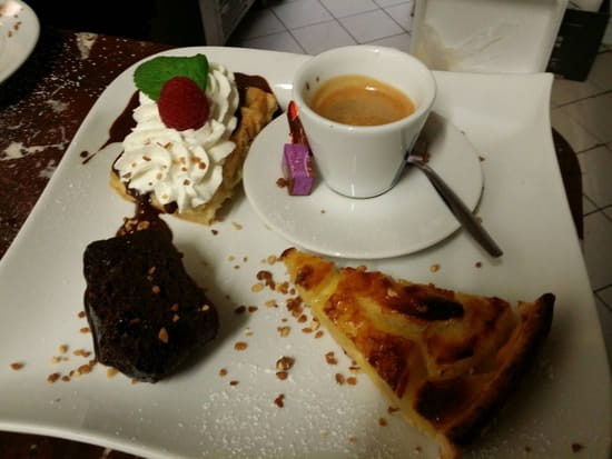 Dessert : Le point gourmand ( ex ramer l'an)