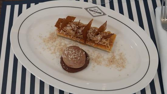 Dessert : Bistrot  de Fontcaude  - Plat Bistrot de Fontcaude -   © SYL