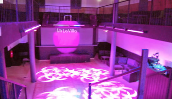 La Villa  - piste de danse -   © la villa
