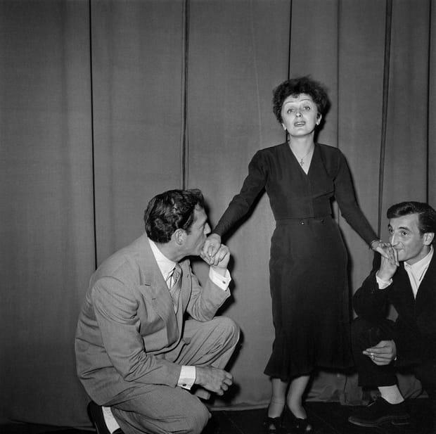 Avec Edith Piaf