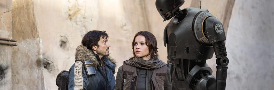 Star Wars Rogue One: le spin-off réalise trois fois moins d'entrées que Star Wars 7