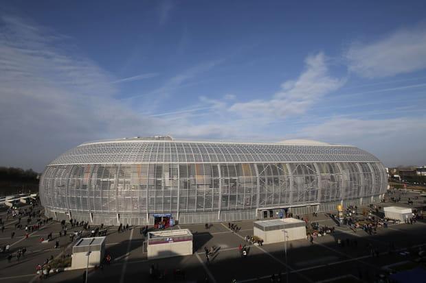 Le stade Pierre Mauroy de Lille