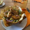 Plat : O'Mexicain  - Salade Mexicana -   © O'Mexicain