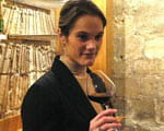 marianne delhomme, chef-sommelier des caves taillevent.