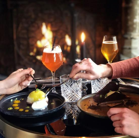 Dessert : Tourbillon  - Repas au coin du feu -   © TOURBILLON