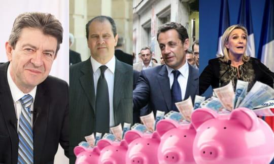 Les partis politiques lesplus riches