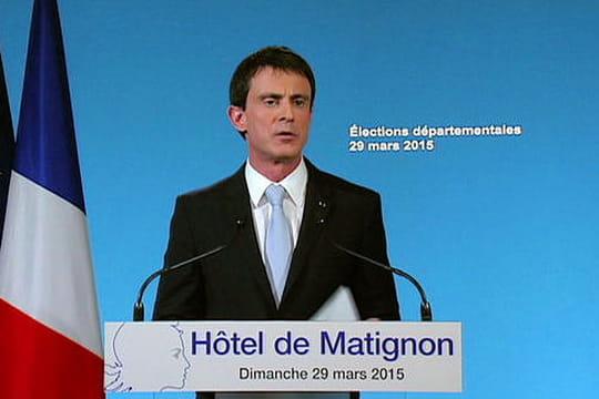 Elections départementales 2015 [DIRECT]: résultats officiels, remaniement évoqué