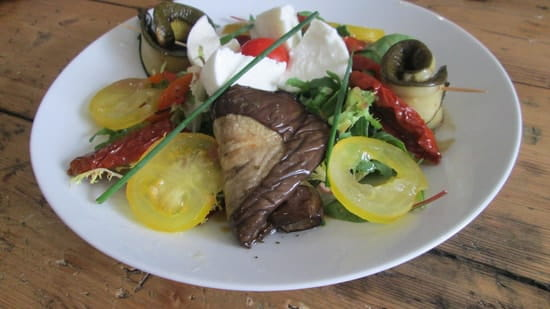 Origin'Elles  - Salade antipasti mozzarella -