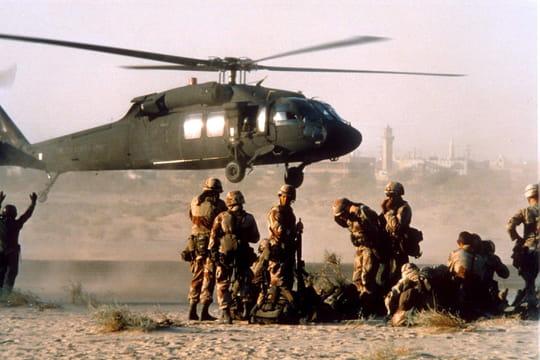 Guerre du Golfe: première guerre contre l'Irak de 1990à 1991