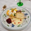 Dessert : Au Lion d'Or  - Kougelhopf glacé aux griottes fait maison -