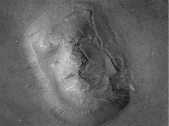 Visage venu de Mars