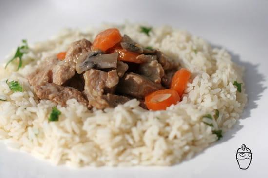The Placeto Eat  - blanquette-veau et riz -