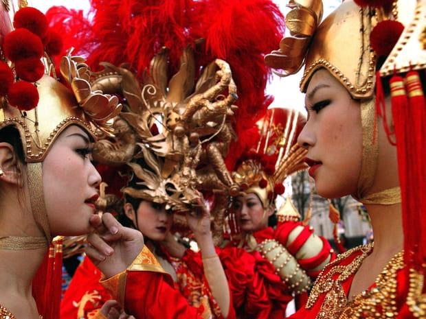 Le défilé du nouvel an chinois à Paris