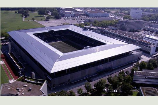 Le stade de Wankdorf à Berne