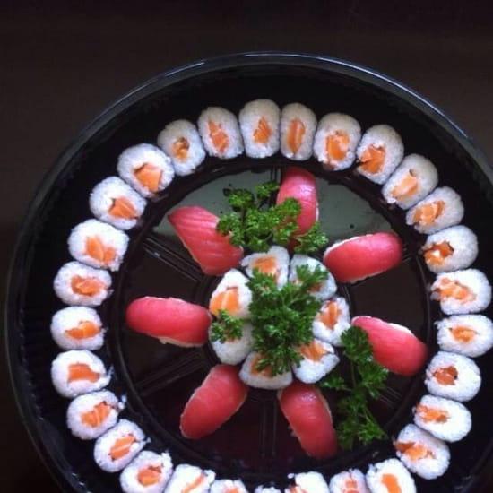Plat : Le Yuki  - Plateau sushi-maki -
