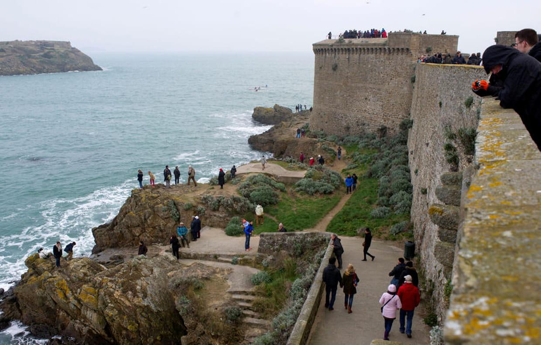 Les remparts de saint malo pris d 39 assaut for B b saint malo