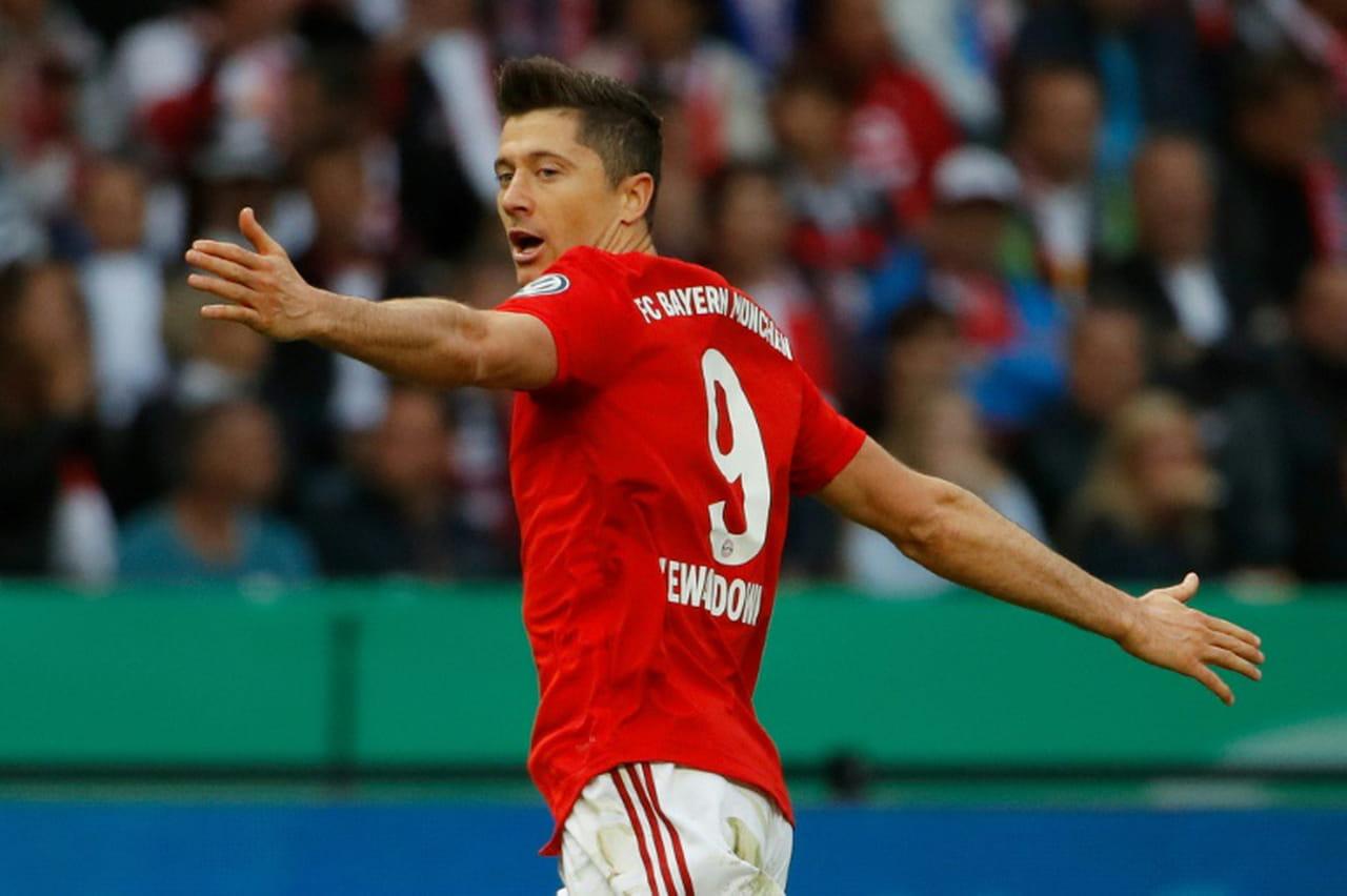 Le Bayern gagne la Coupe d'Allemagne avec deux buts de Lewandowski et réussit le doublé