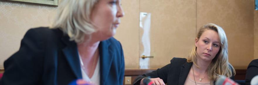 Marine Le Pen: bientôt la rupture avec sa nièce Marion Maréchal-Le Pen?