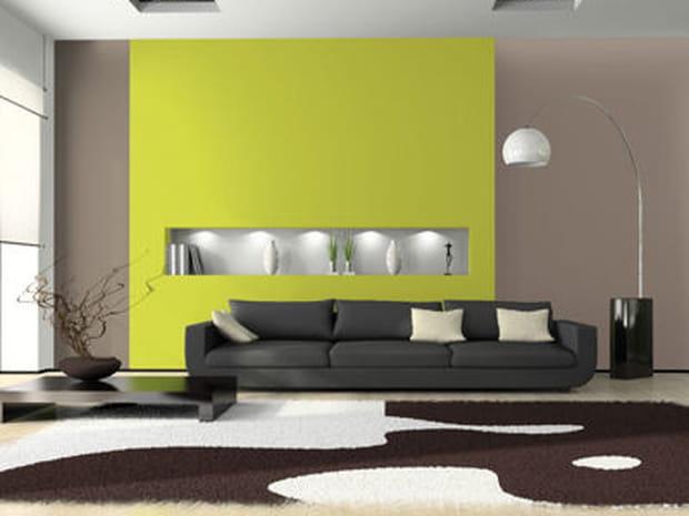 Peinture id es conseils et tendances sur la peinture murale for Peinture tendance pour salon