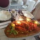 Vin et un  - Pattes au homard 18 euros par pers -