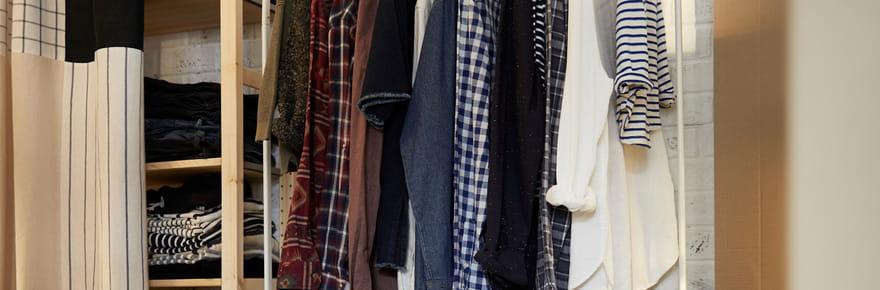 Des options pratiques et déco pour ranger vos vêtements