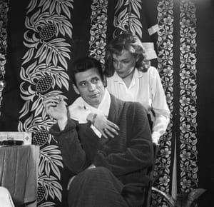 Yves Montand et Simone Signoret au début des années 1950