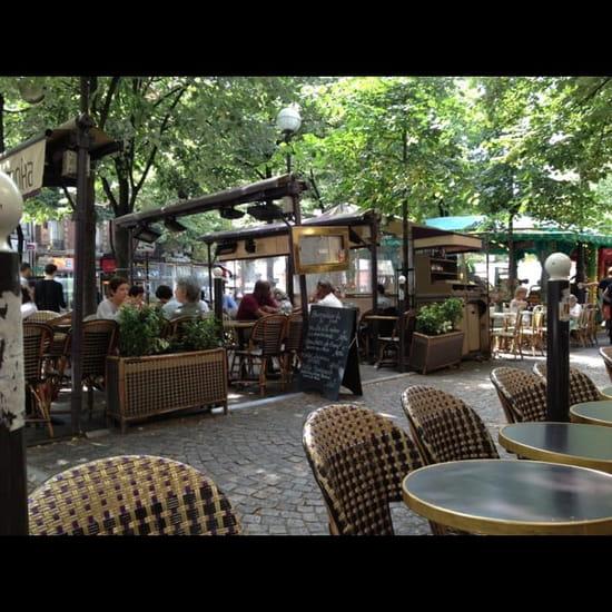 Restaurant : Moka  - Terrasse du moka  -
