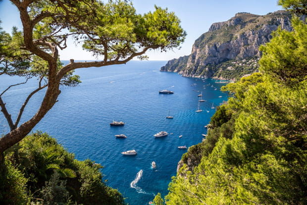 Les tongs à Capri