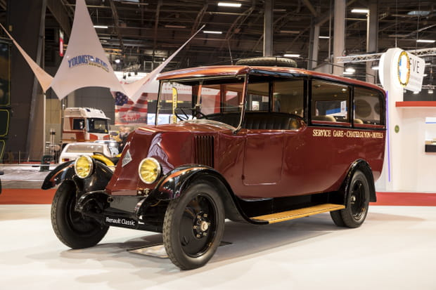 L'autocar type PR de 1927
