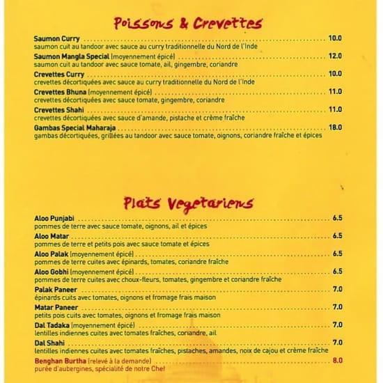 Carte Indien Restaurant.Le Maharaja Restaurant Indien A Verneuil Sur Seine Avec