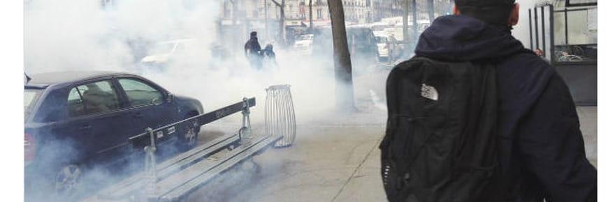 Manif à Paris: 28lycées bloqués, le rassemblement de soutien à Théo dégénère