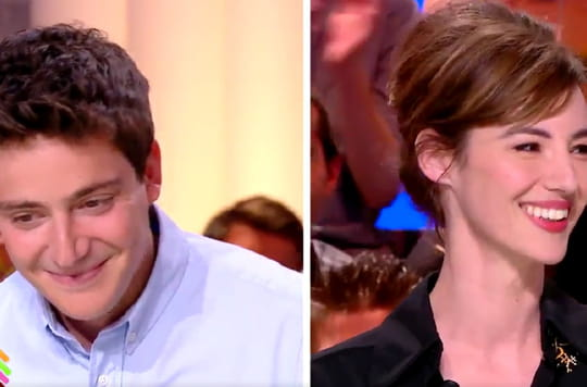 Quotidien : Louise Bourgoin drague Martin Weill, le journaliste gêné