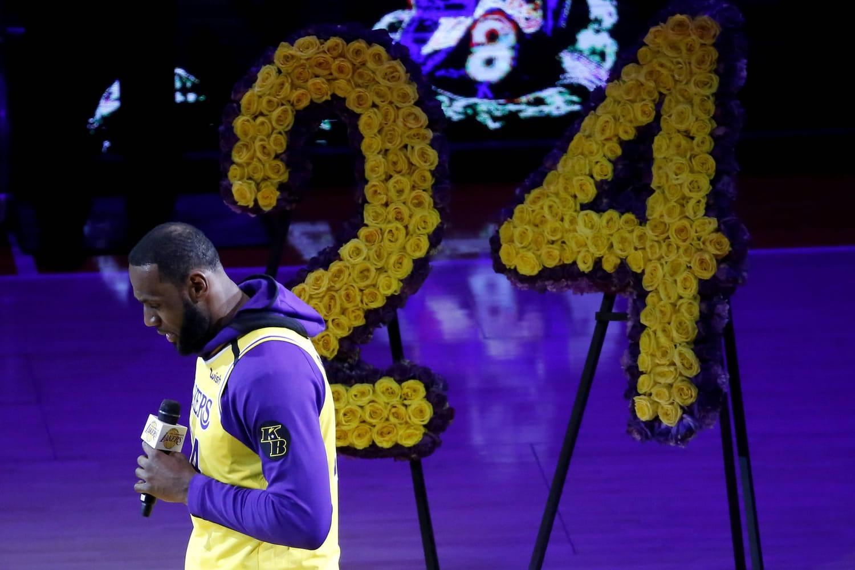 Mort de Kobe Bryant: le poignant hommage des Lakers avant les obsèques