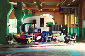IKEA PS 2017: fauteuil, lampe, canapé... Pleins feux sur la collection design