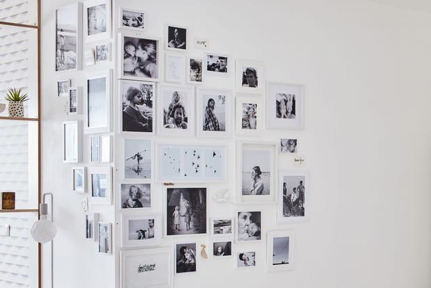 Un mur de photos