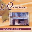 Les Quatre Saisons  - La facade du restaurant -   © Delphine Bonnaud