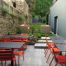 La P'tite Crêpe Rit  - Terrasse et jardin -