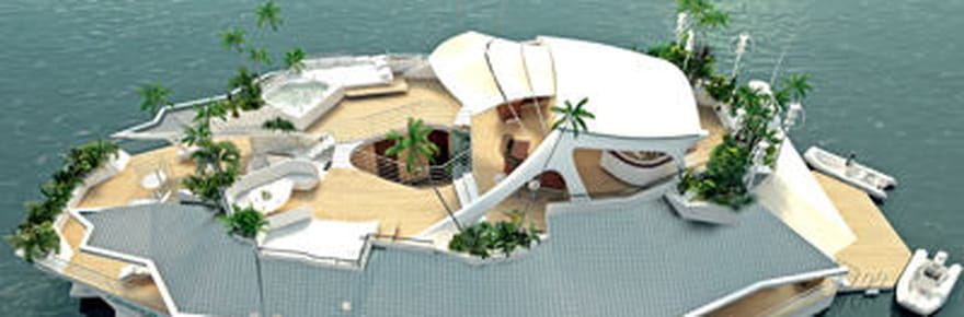 Orsos Island : l'île flottante de luxe