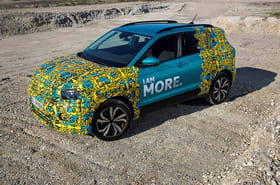 Le Volkswagen T-Cross se montre en photos