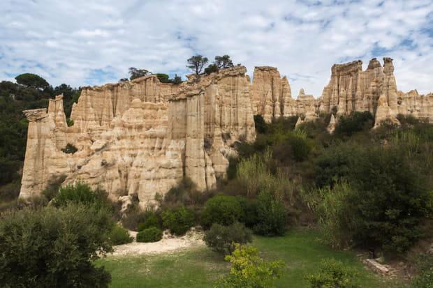 Les Orgues d'Ille-sur-Têt dans les Pyrénées-Orientales