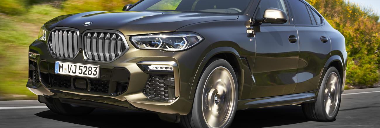 Les photos du nouveau BMW X6