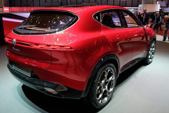 Alfa Romeo Tonale: les premières photos de la version de série?