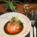 Le Petit Bouchon  - rouget au pesto, semoule à l'orientale -   © antoine pieuchot