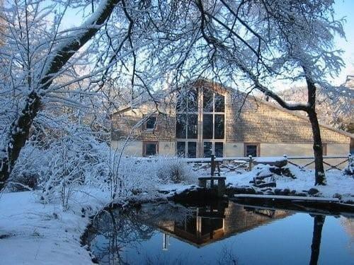 La Gérômoise  - coté parc en hiver -   © GS