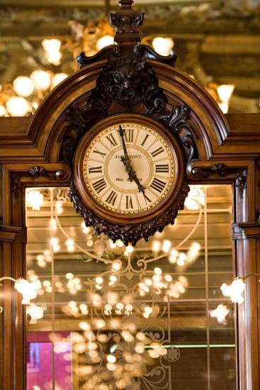 Le Train Bleu  - horloge -   © le train bleu